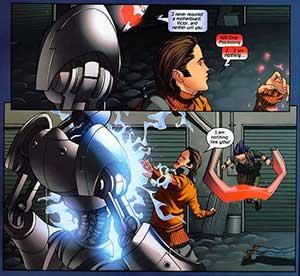 Runaways 6 volume 2 Ultron Victor Mancha
