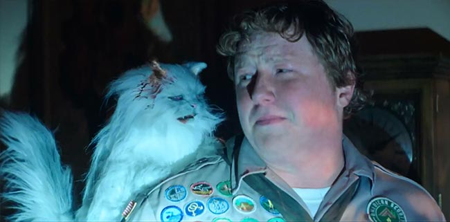 Scouts Guide to the Zombie Apocalypse Zombie Cat