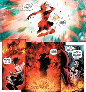 Teen Titans 23.1 Trigon rape woman