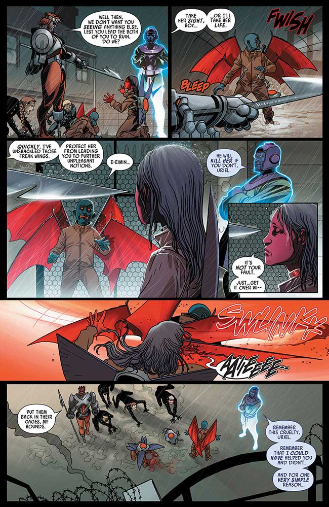 Uncanny Avengers 12 Kang the Conqueror Apocalypse Twins Uriel and Eimin