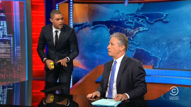 Daily Show Jon Stewart Trevor Noah