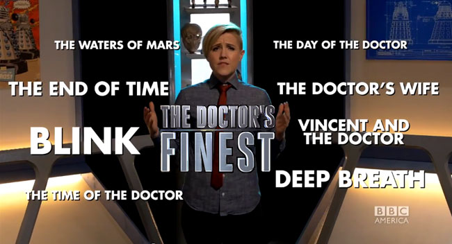 Doctor Who special Doctor's Finest hosted by Hannah Hart