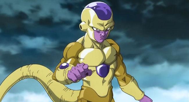 Dragon Ball Z Resurrection F Golden Frieza vs Super Saiyan God Goku