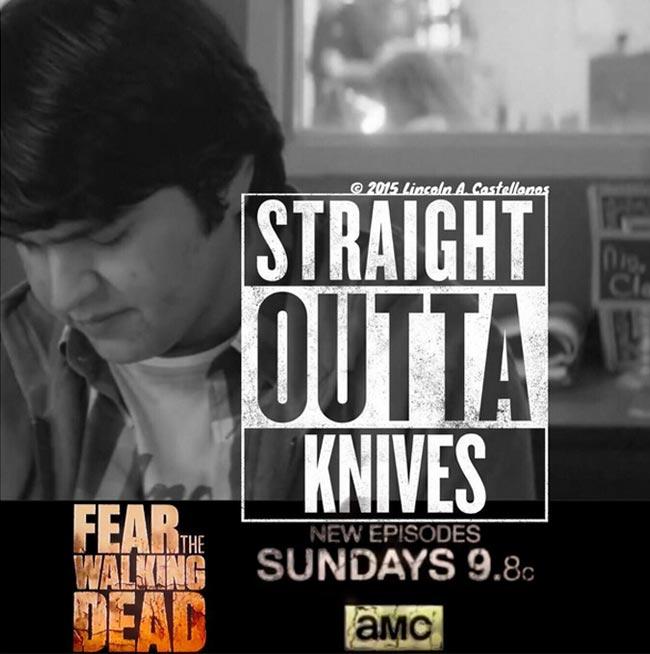 Fear the Walking Dead Tobias Lincoln A. Castellanos