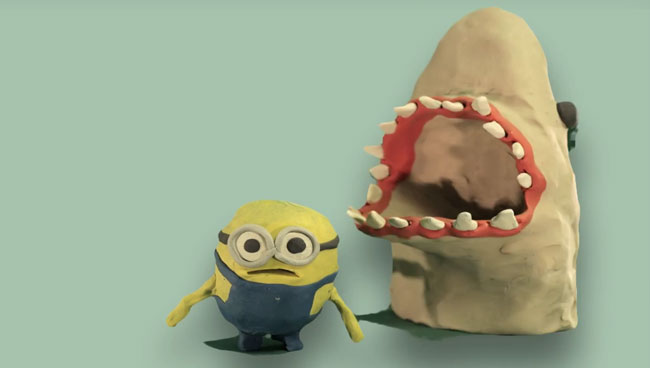 Minions die horribly for your amusement claymation