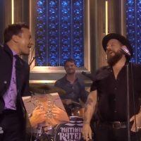 Nathaniel Rateliff and the Night Sweats standing ovation Tonight Show Jimmy Fallon