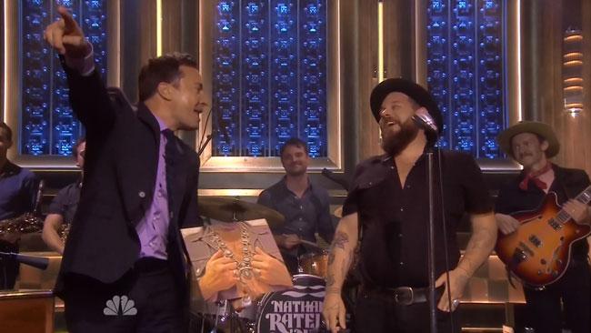Nathaniel Rateliff and the Night Sweats standing ovation Tonight Show Jimmy Fallon