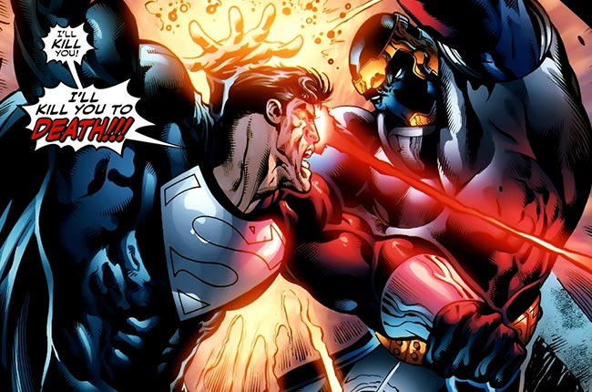 Countdown to Final Crisis 13 Superboy Prime kill you to death Monarch