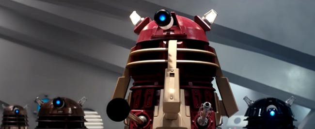 Doctor Who season 9 Dalek Maximum Extermination