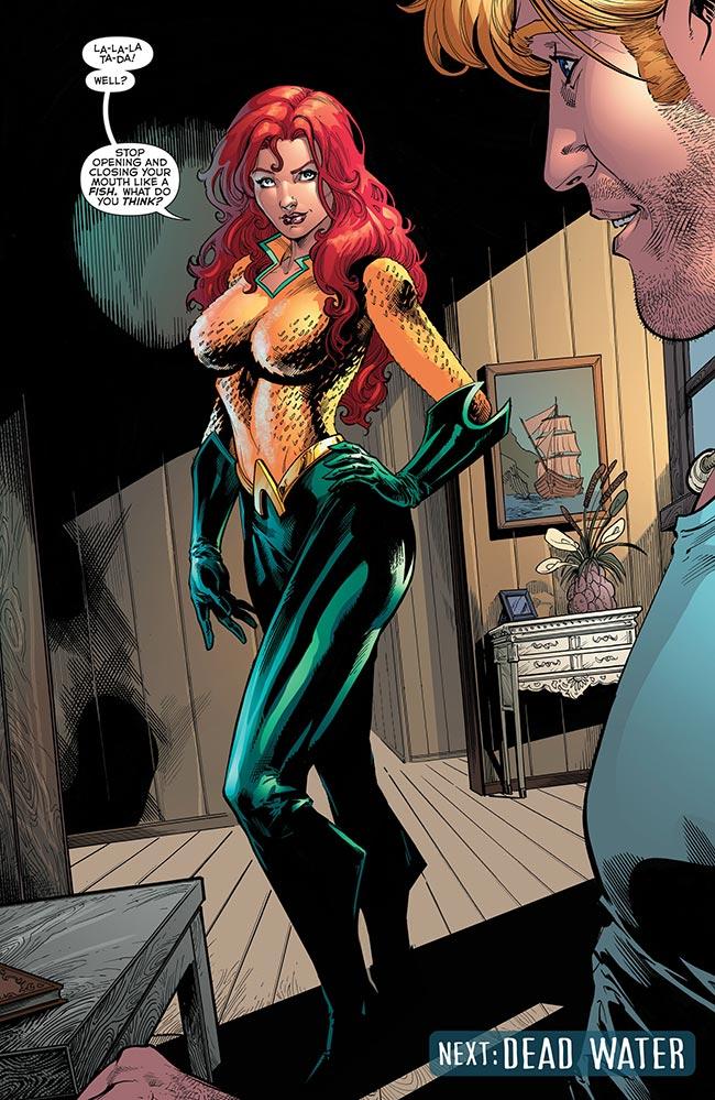 Aquaman 49 Mera Aquawoman