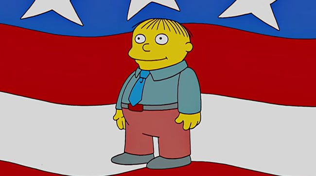donald trump candidacy simpsons did it l7 world