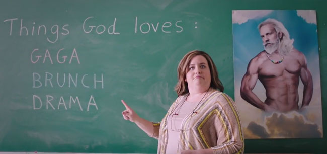 Saturday Night Live SNL Gods Not Dead parody mocks anti-gay laws