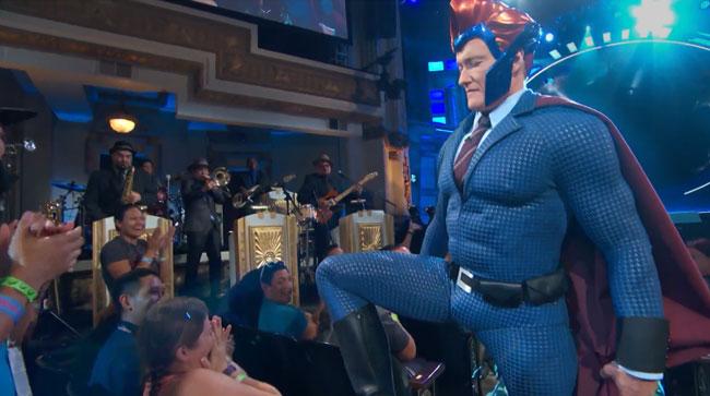 Conan superhero costume Comic-Con Ironhead