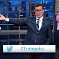 Late Show Stephen Colbert Pokemon Trobgobs Prawnquistador Gimpapotamus
