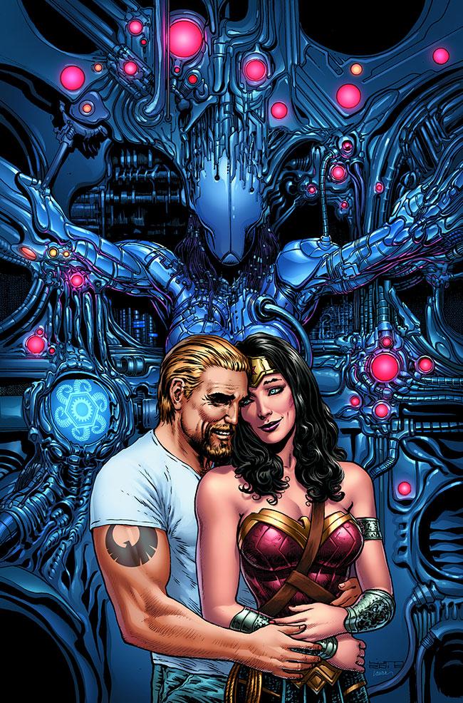 Wonder Woman #9 Steve Trevor Wonder Woman Pregnant