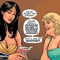 Wonder Woman Earth One Elizabeth Candy Etta Candy Lesbian gay