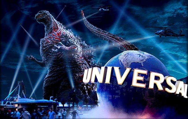 Godzilla Resurgence Shin Godzilla-4D attraction Universal Studios Japan