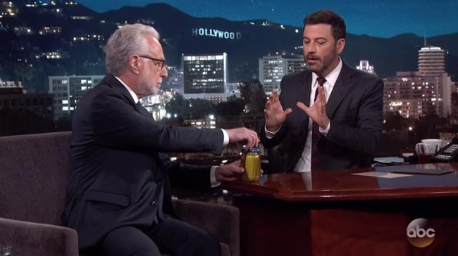 Jimmy Kimmel picklegate CNN Wolf Blitzer