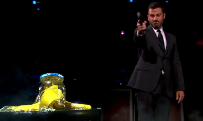 Jimmy Kimmel blows the lid off pickle jar conspiracy Hillary Clinton