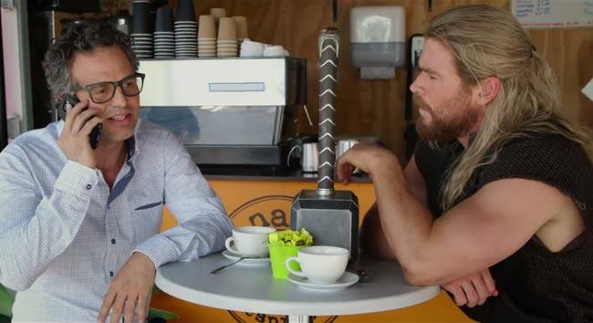 Captain America Civil War Thor Chris Hemsworth Bruce Banner Hulk Mark Ruffalo