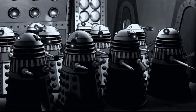 Doctor Who cartoon The Power Of The Daleks lost episode