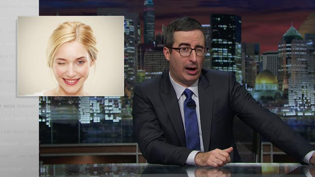 Last Week Tonight John Oliver wink Labor Day