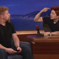 Conan Walking Dead Glenn Abraham Steven Yeun Michael Cudlitz