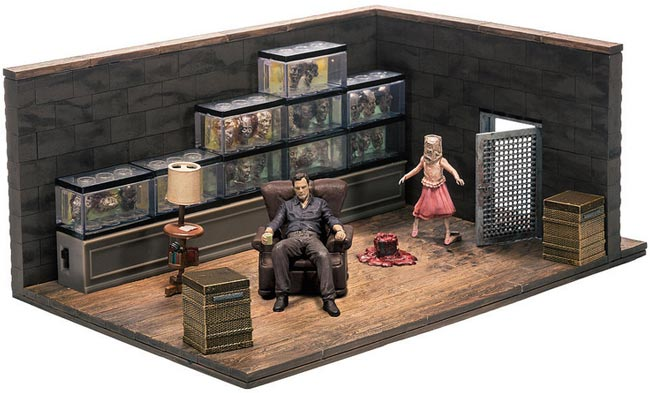 Walking Dead TV The Governor Room Construction Set McFarlane Toys