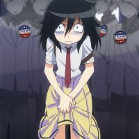 Watamote Tomoko Kuroki train molest rape Donald Trump president