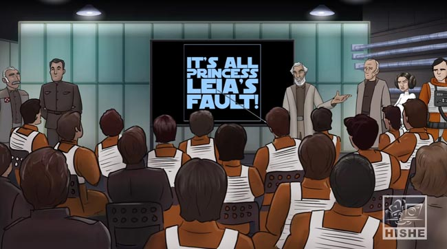 Star Wars Princess Leia rebels