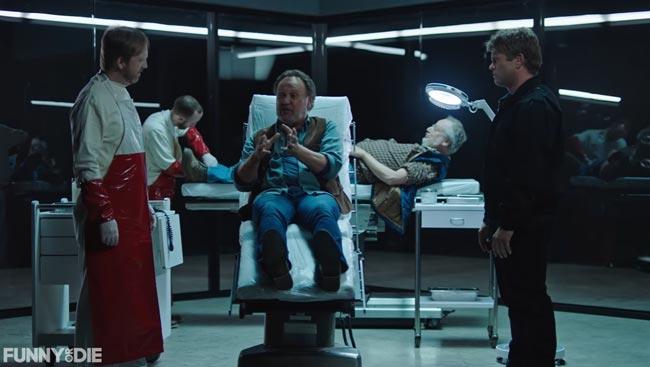 Westworld parody City Slickers Billy Crystal Daniel Stern Ptolemy Slocum Luke Hemsworth Angela Sarafyan
