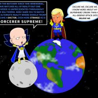 What if Doctor Strange was Donald Trump 1 Watcher