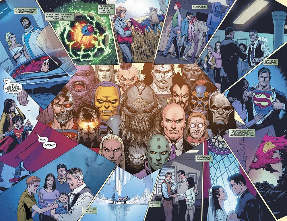 Action Comics 976 Lois Lane Superman supervillains Doomsday retcon