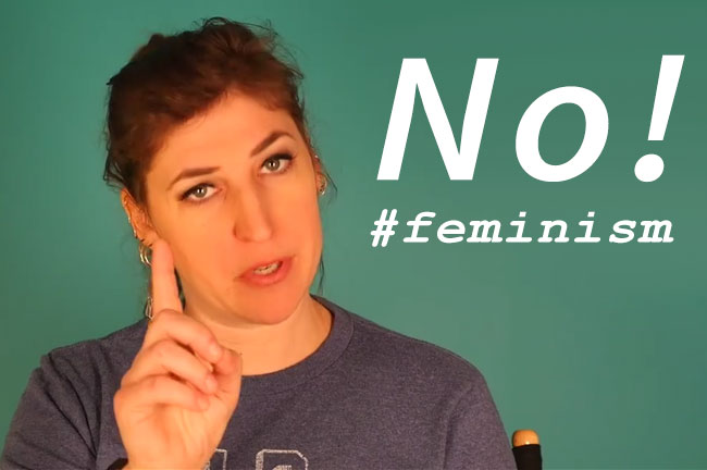 Big Bang Theory Mayim Bialik womansplaining girl vs woman sexism feminism