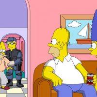 Simpsons celebrate Donald Trump first 100 days