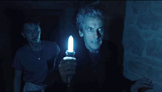 Doctor Who Knock Knock Peter Capaldi