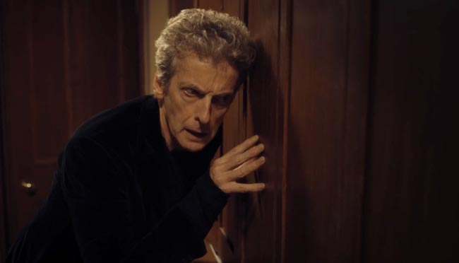 Doctor Who Knock Knock binaural sound 3D Peter Capaldi