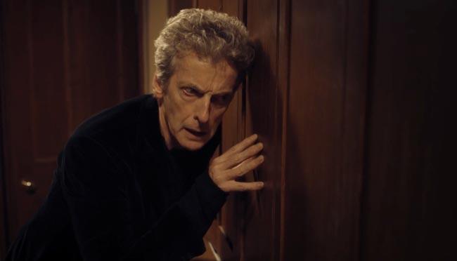 Doctor Who Knock Knock binaural sound 3D Peter Capaldi