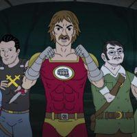 Apollo Gauntlet Paul Cassidy Heroes Helpers Puff Superknife Monty Rubis