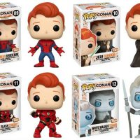 Conan Pop Vinyl Comic-Con 2017 Spider-Man Star Wars Jedi Flash Game of Thrones White Walker