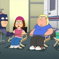 Family Guy S15E04 Inside Family Guy Adam West Batman Meg Chris