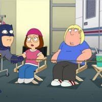 Family Guy S15E04 Inside Family Guy Adam West Batman Meg Chris