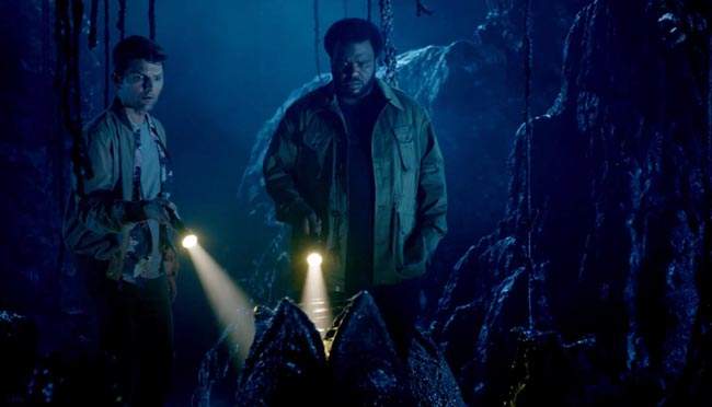 Ghosted TV Adam Scott Craig Robinson Aliens movie Fly Poltergeist