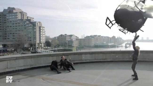 Sharknado 5 Upgrades Tara Reid From Robot To Superhero