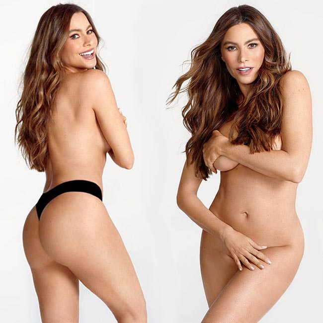 Sofia Vergara nude in Women's Health & new movie Bent