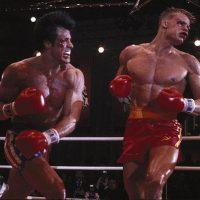 Sylvester Stallone Rocky vs Drago Dolph Lundgren RockyIV Creed 2