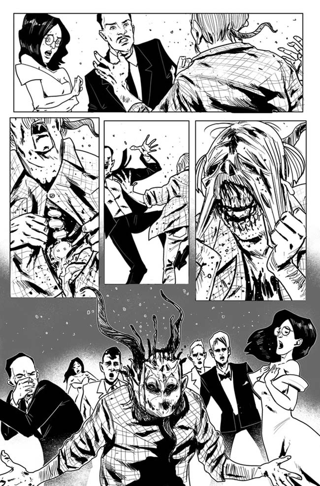 Spores Prom of the Dead zombies Harbinger Dave Dwonch Santiago Guillen