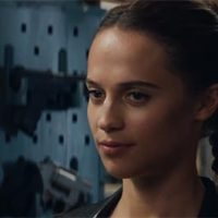 Tomb Raider movie 2018 handguns Alicia Vikander