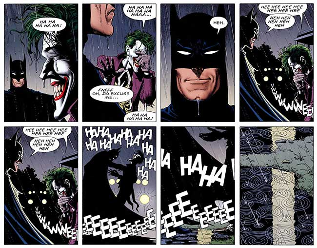 Batman Killing Joke Batman kills Joker