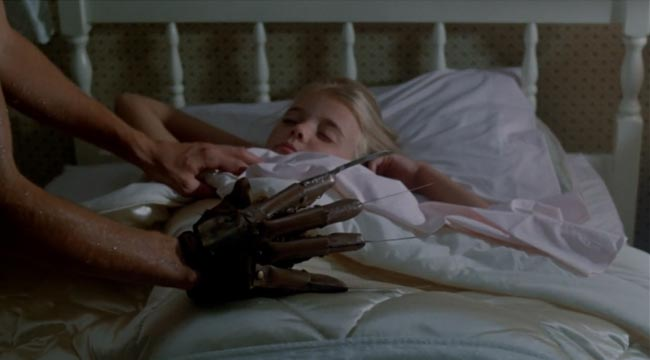 Nightmare on Elm Street 2 Freddy's Revenge Angela Walsh (Christie Clark) bed glove